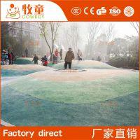 广州牧童大型游乐园户外儿童拓展攀爬训练设备儿童乐园攀岩墙抓手攀爬架