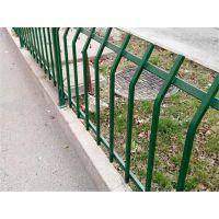 护栏厂家直销静电喷涂绿化带草坪锌钢护栏