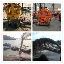 挖机装用清淤泵-全液压驱动抽沙泵-高效搅拌挖机抽沙泵