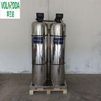 直销桂林旅游度假区山庄温泉水软化设备 华兰达5T/H不锈钢全自动软水机