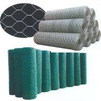 步鑫厂家现货促销镀锌铝/包塑石笼网卷 格宾网卷 六角网卷可定做