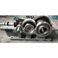 沃德DCYK355-28硬齿面锥齿轮减速机|齿轴箱体配件