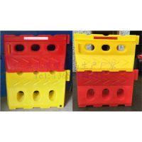 耐撞型塑料水马防撞桶全新PE塑料滚塑工艺制作 厂家直销