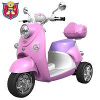 奇客儿童电动车三轮车宝宝电动摩托车童车儿童童玩具车可坐人
