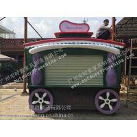 南京商业街售货车,常州游乐园售卖亭,徐州室内零售花车