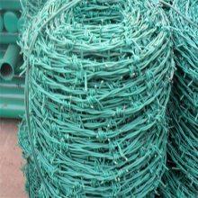 刺绳护栏 刺绳多少钱一米 钢丝刺线厂家