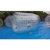 水上滚筒水上步行球水上滚筒充气滚筒