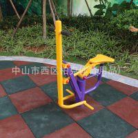 佛山户外健身器材 单柱儿童秋千室外健身路径 中老年活动器械定做