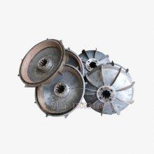 搅拌机料斗提升电机刹车盘 起重机电葫芦刹车盘 电机刹车风叶制动轮配锁紧螺母