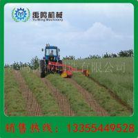 禹鸣DRM-125双圆盘割草机拖拉机后置偏置割草机苜蓿玉米秸秆收割机厂家直销