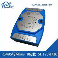 一二三物联网 RS485 Mbus转换器 电表转换器(8负载) SD123-I710