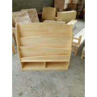 幼儿园实木家具儿童组合柜进口松木玩具柜毛巾架书架储物柜
