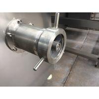 厂家供应牛皮绞肉机高效实用易清洗