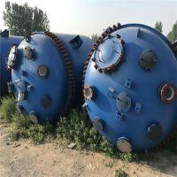 出售5吨不锈钢反应釜 5吨搪瓷反应釜