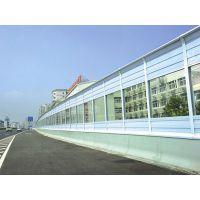 高架桥透明声屏障 吸音降噪 环保