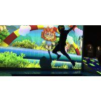 淘气堡互动投影蹦蹦床游戏设备出售代理加盟【包邮包游戏升级】