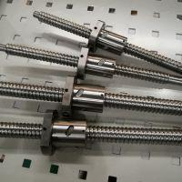 进口上银滚珠丝杠 大导程滚珠丝杆 高精度双螺母 研磨/轧制副