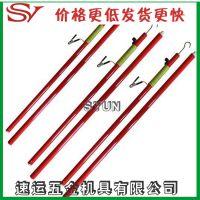 伸缩式放电棒 便携式高压放电棒电工高压有阻式放电棒