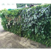 仿真绿色植物厂家?浩晟 假植物墙 绿植墙装饰 立面植物背景墙定做批发