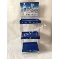 【厂商】矿泉水展览展示柜苏打水商超货架纯净水宣传摆放架
