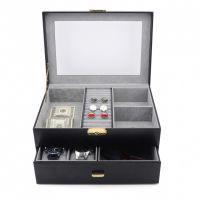 立葳PU皮手表盒 名表收纳盒 机械表展示盒 皮盒