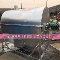 天然气加热炒锅 花生米炒货机 辣椒烘干机