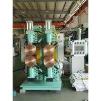 山东豪精滚焊机 中频电阻缝焊机 汽车油箱滚焊机