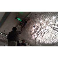 工厂加工定制酒店大堂方形水晶LED灯
