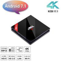 H96 Pro+晶晨S912八核3G+32G蓝牙安卓7.1机顶盒4K网络高清播放器