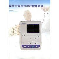ECG-1250光电六道便携式心电图机和A4纸大小差不多方便携带