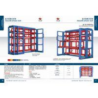 供应,广东省仓库货架设备6092手动抽屉式机械薄板货架系统