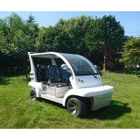 宝岛四轮电动观光车白色BD6042,电池48V,电机4KW,外形尺寸3035*1400*1800