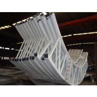 管桁架加工出口公司-三维钢构
