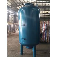 蓝色面漆 直径1.2米 带观察孔碳钢衬胶过滤罐