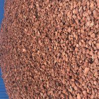 多肉栽培专用3-6mm红色火山石颗粒 水处理用火山岩 火山石粉