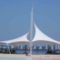 厂家设计安装膜结构景观棚大型户外走廊膜结构凉棚PVDF家用膜结构停车棚