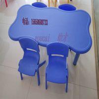 幼儿园塑料桌子,pe材质,款式颜色多样,可任意选择,可定制,材质安全