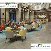 供应上海韩尔家具/俏江南餐厅简欧桌椅定做 酒店桌椅定制