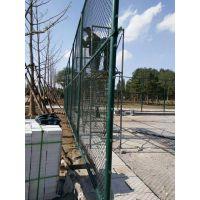 厂家直销包塑pvc勾花网 浸塑球场围网栏 养殖防护园林围网