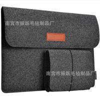 礼品macbook苹果笔记本pro电脑包保护套毛毡ipad内胆包佩带电源包