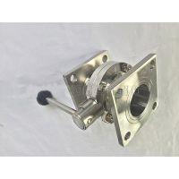 莱西优惠促销气动卫生级焊接蝶阀流程