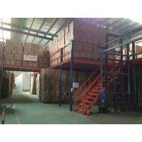 组合货架 仓库铁架(中量型)简易阁楼式夹层 中山组合货架