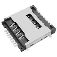 东莞 SOFNG SIM-020 尺寸:17.5mm*17.5mm*3.05mm SIM卡连接器