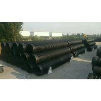 厂家直销 克拉管 200到2400大口径市政排污管 HDPE缠绕结构壁B型管