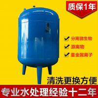 广西容县低价热销碳钢石英砂过滤罐工业污水前置水处理过滤器清又清