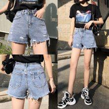 厂家清货大量库存尾货牛仔裤短裤便宜服装批发夏季休闲三分裤