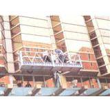 使用吊篮清洗外墙/吊船拆装玻璃/吊篮租赁技术交