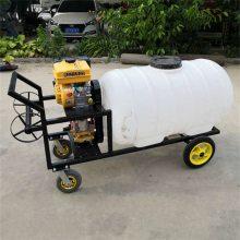 农用推车式喷雾器 汽油高压打药机 圣鲁远程喷雾器