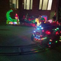 儿童玩具车轨道火车摇摇车 电动遥控椭圆形小火车 户外游乐设备旋转小火车