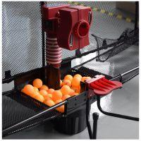 斯波阿斯乒乓球发球机2017新款T899黑色智能多功能发球机教练训练机